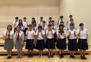 鳥取県西部高等学校合同合唱団