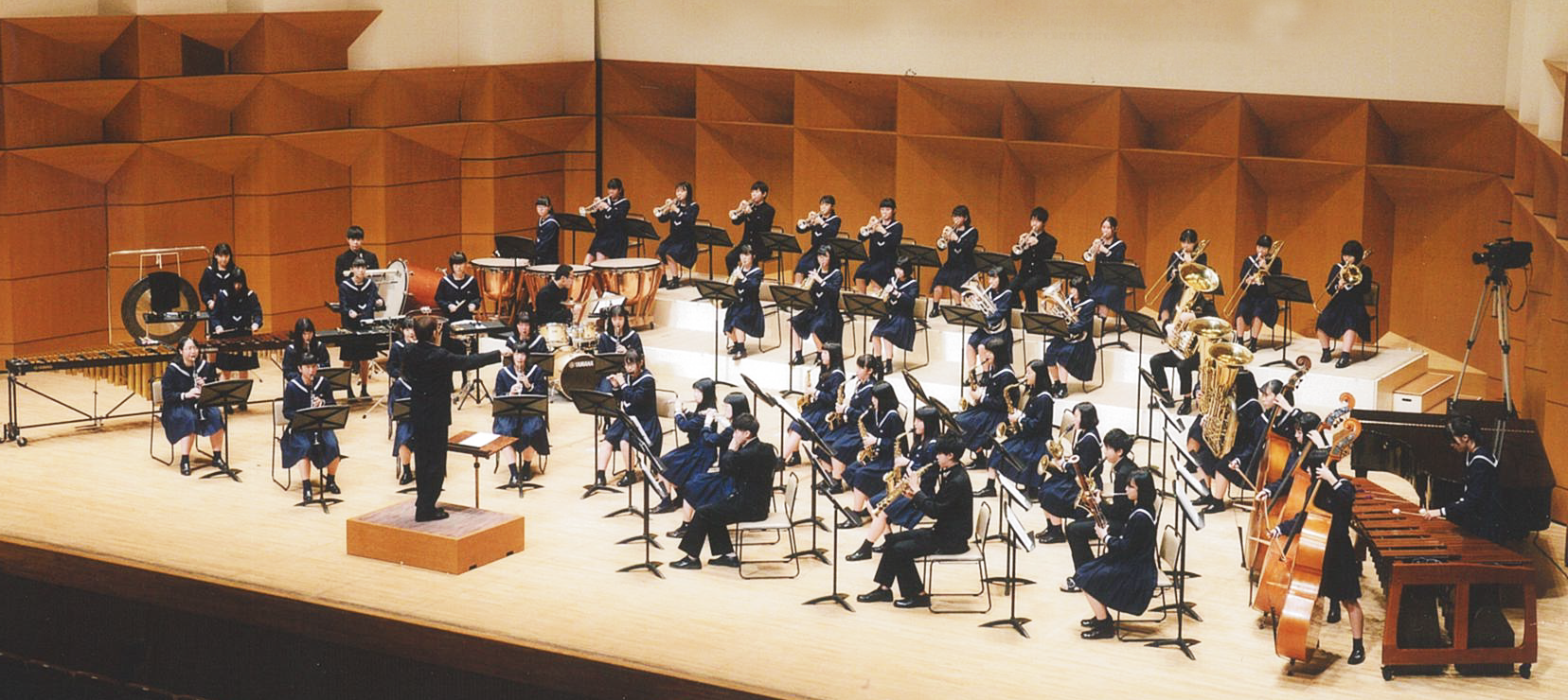 米子西高等学校吹奏楽部